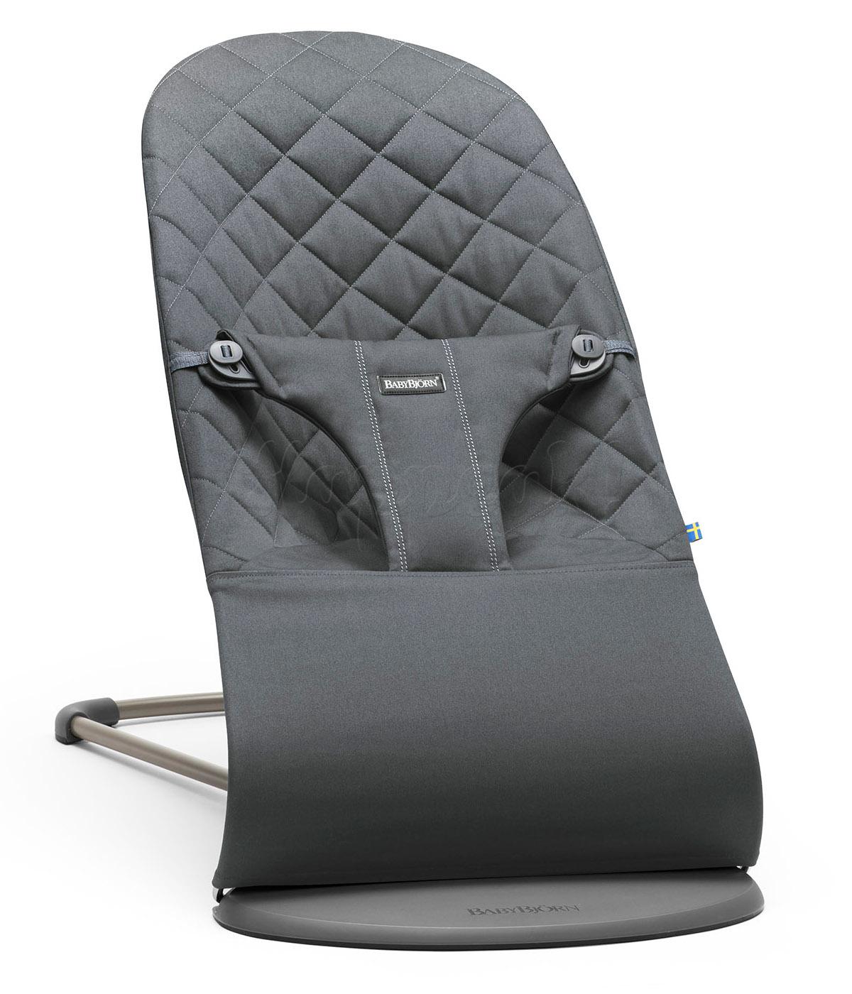 Кресло-шезлонг balance soft, рыжеоранжевый, baby bjorn (005024)