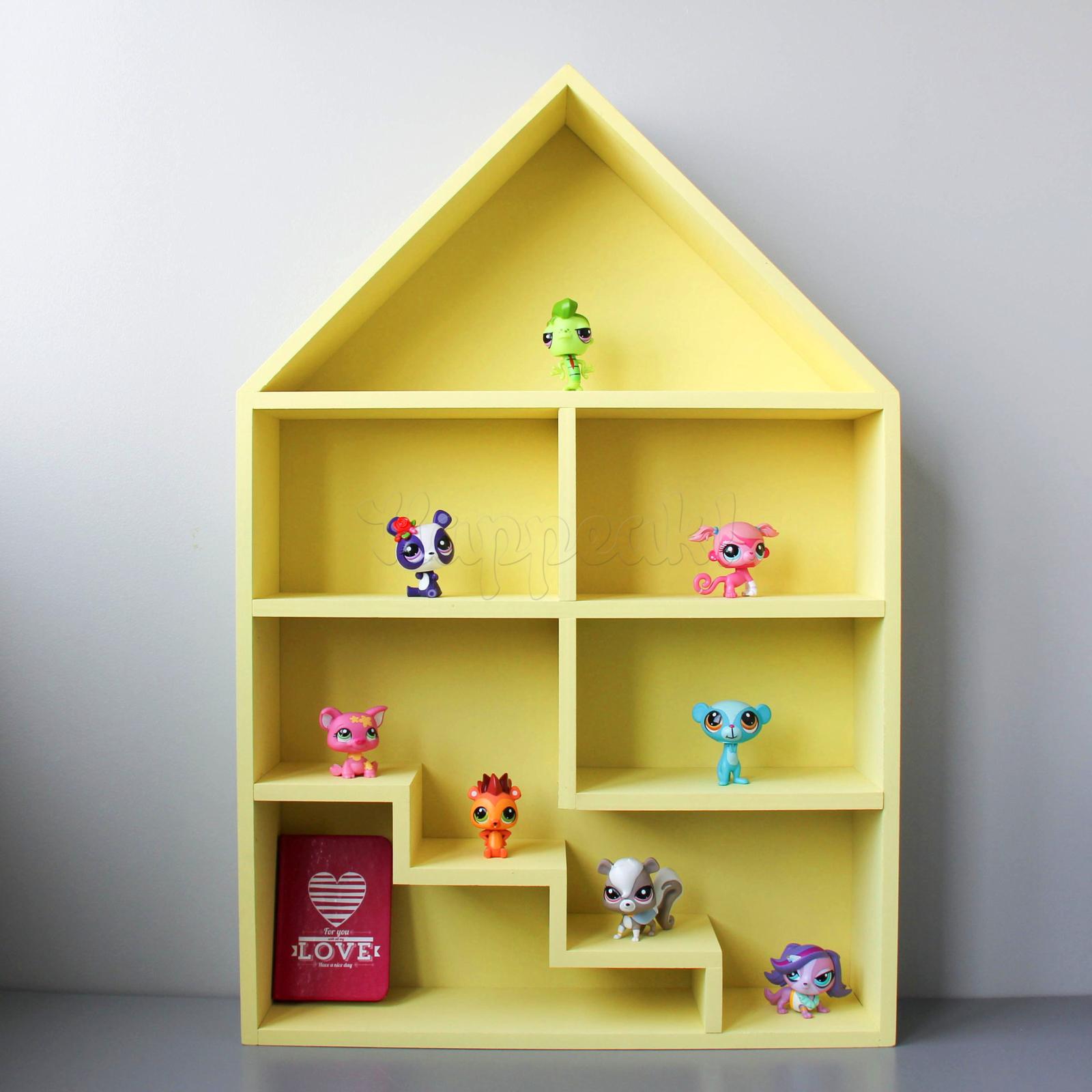 Как сделать домик для игрушек
