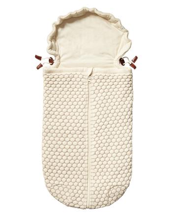 Конверт для новорожденного к коляске JOOLZ NEST HONEYCOMB OFF WHITE