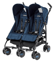 Коляска для двойни PEG-PEREGO PLIKO MINI TWIN GEO NAVY