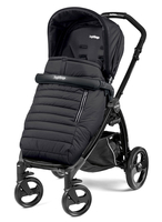 Коляска прогулочная PEG-PEREGO BOOK PLUS MATT BLACK POP-UP BREEZE NOIR