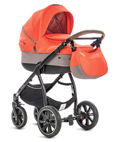 Коляска NOORDI SOLE SPORT 862 ORANGE RED 2 В 1