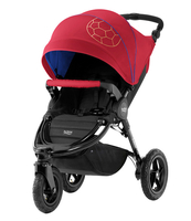 Коляска прогулочная BRITAX B-MOTION 3 PLUS FOOTBALL EDITION