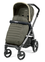 Коляска прогулочная PEG-PEREGO BOOK PLUS 51 JET POP-UP BREEZE KAKI