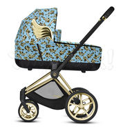 Коляска CYBEX PRIAM III FE JS CHERUBS BLUE  2 В 1