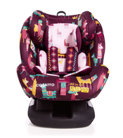 Автокресло COSATTO ALL-IN-ALL LLAMARAMA ISOFIX