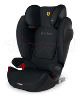 Автокресло CYBEX SOLUTION M-FIX SL FE FERRARI VICTORY BLACK