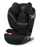 Автокресло CYBEX SOLUTION S-FIX DEEP BLACK