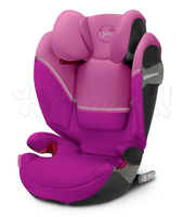 Автокресло CYBEX SOLUTION S-FIX MAGNOLIA PINK