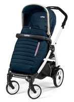 Коляска прогулочная PEG-PEREGO BOOK PLUS 51 WHITE POP-UP BREEZE BLUE