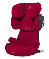 Автокресло CYBEX SOLUTION X2-FIX FE FERRARI RACING RED