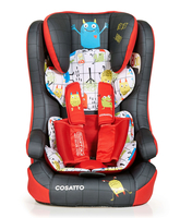 Автокресло COSATTO HUBBUB ISOFIX MONSTER MOB