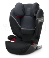 Автокресло CYBEX SOLUTION S-FIX GRANITE BLACK