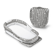 Мобильная кроватка BABY DELIGHT SNUGGLE NEST SURROUND XL GREY ELEFONTES