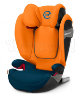 Автокресло CYBEX SOLUTION S-FIX TROPICAL BLUE