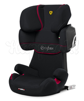 Автокресло CYBEX SOLUTION X2-FIX FE FERRARI VICTORY BLACK