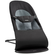 Кресло-шезлонг BABYBJORN BALANCE SOFT BLACK GREY