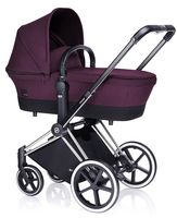 Коляска CYBEX PRIAM LUX GRAPE JUICE 2 В 1 на раме TREKKING