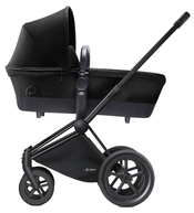 Коляска CYBEX PRIAM LUX STARDUST BLACK 2 В 1 на раме ALL TERRAIN MATT BLACK