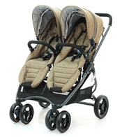 Коляска для двойни VALCO BABY SNAP 4 ULTRA DUO TAILORMADE BROWN