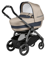 Коляска PEG-PEREGO BOOK PLUS 51 JET ELITE+POP-UP LUXE BEIGE 3 В 1