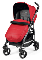 Коляска прогулочная PEG-PEREGO SI COMPLETO BLOOM RED