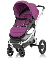 Коляска BRITAX AFFINITY WHITE COOL BERRY