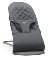 Кресло-шезлонг BABYBJORN BLISS COTTON ANTHRACITE