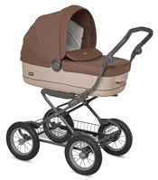 Коляска INGLESINA SOFIA COMFORT TOUCH COFFEE CREAM 2 В 1 ШАССИ ERGO BIKE