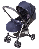 Коляска прогулочная COMBI URBAN WALKER CLASSIC DELUXE DARK BLUE