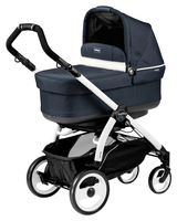 Коляска PEG-PEREGO BOOK PLUS 51 WHITE POP-UP LUXE BLUE 3 В 1