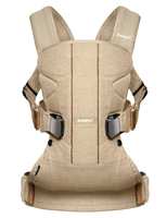 Рюкзак-кенгуру BABYBJORN ONE COTTON MIX BIRCHWOOD BEIGE L.E.