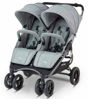 Коляска для двойни VALCO BABY SNAP DUO TAILORMADE GREY MARLE