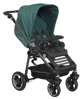 Коляска TEUTONIA BLISS GRAPHITE 6130-6160 JADE-TWINKLE 2 В 1