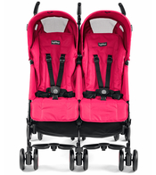Коляска для двойни PEG-PEREGO PLIKO MINI TWIN MOD RED