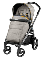 Коляска прогулочная PEG-PEREGO BOOK PLUS 51 S JET POP-UP LUXE GREY