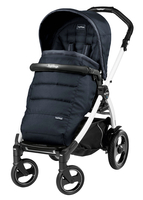 Коляска прогулочная PEG-PEREGO BOOK PLUS 51 S WHITE POP-UP LUXE BLUENIGHT