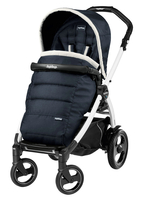 Коляска прогулочная PEG-PEREGO BOOK PLUS 51 S WHITE POP-UP LUXE BLUE