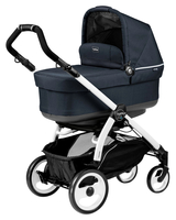 Коляска PEG-PEREGO BOOK PLUS 51 WHITE POP-UP LUXE BLUENIGHT 3 В 1