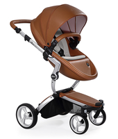 Коляска MIMA XARI FLAIR 2G CAMEL - ASH BROWN 2 В 1 на шасси SILVER