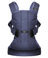 Рюкзак-кенгуру BABYBJORN ONE COTTON MIX DENIM BLUE