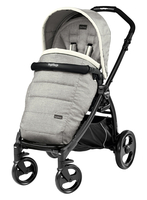 Коляска прогулочная PEG-PEREGO BOOK PLUS MATT BLACK POP-UP LUXE OPAL