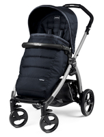 Коляска прогулочная PEG-PEREGO BOOK PLUS GREY POP-UP LUXE BLUENIGHT