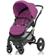 Коляска BRITAX AFFINITY BLACK COOL BERRY