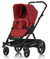 Коляска BRITAX GO BLACK CHILI PEPPER