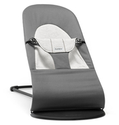 Кресло-шезлонг BABYBJORN BALANCE SOFT COTTON JERSEY DARK GREY