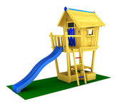 Игровой комплекс JUNGLE GYM PLAYHOUSE CXL +CLIMB MODULE
