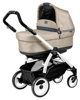 Коляска PEG-PEREGO BOOK PLUS 51 WHITE POP-UP LUXE BEIGE 3 В 1
