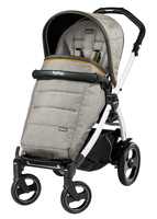 Коляска прогулочная PEG-PEREGO BOOK PLUS 51 S WHITE POP-UP LUXE GREY