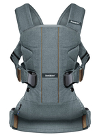 Рюкзак-кенгуру BABYBJORN ONE COTTON MIX PINE GREEN L.E.